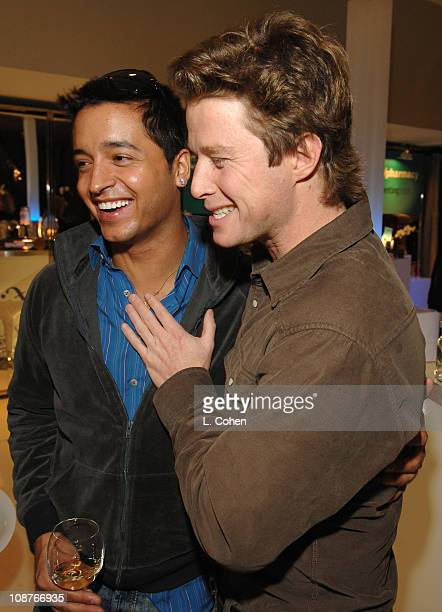 Jai Rodriguez and Billy Bush during Access Hollywood 'Stuff You Must' Lounge Presented by On 3 Productions Day 1 at Sofitel LA in Los Angeles...