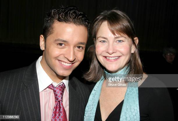 Jai Rodriguez and Cherry Jones during The 2005 Broadway Cares/Equity Fights AIDS 'Gypsy of The Year Competition' at The Neil Simon Theater in New...