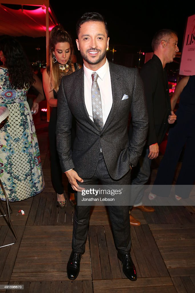 Jai Rodriguez attends the Latina 'Hot List' Party hosted by Latina Media Ventures at The London West Hollywood on October 6, 2015 in West Hollywood, California.
