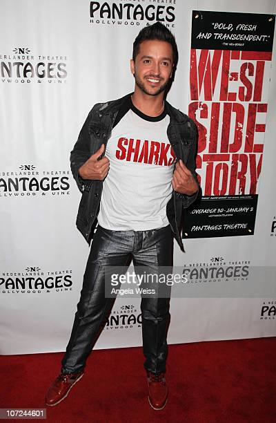 Jai Rodriguez attends the opening night of 'West Side Story' at the Pantages Theatre on December 1 2010 in Hollywood California