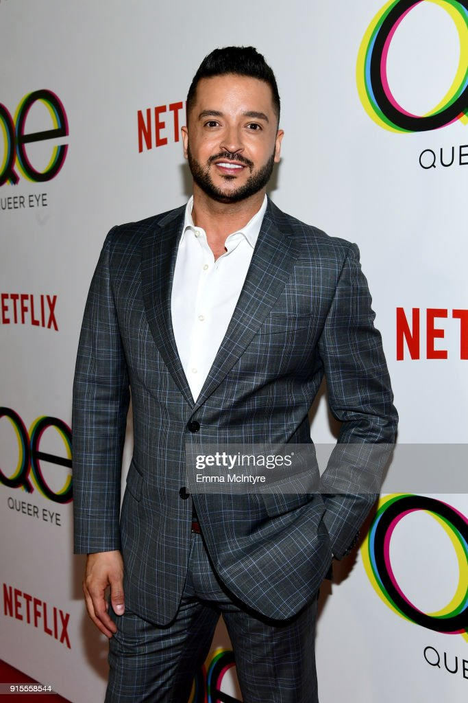 Jai Rodriguez attends the premiere of Netflix's 'Queer Eye' Season 1 at Pacific Design Center on February 7, 2018 in West Hollywood, California.