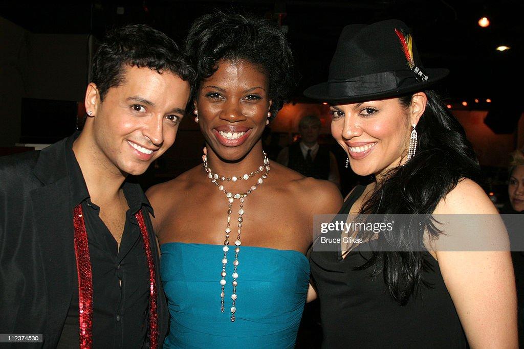 Jai Rodriguez, Deidre Goodwin and Sara Ramirez
