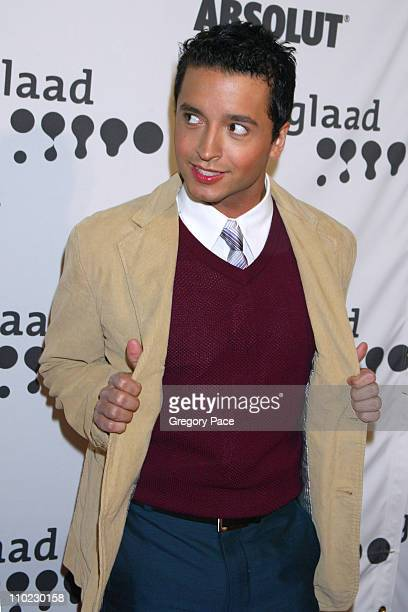 Jai Rodriguez during 16th Annual GLAAD Media Awards - Arrivals at Marriott Marquis in New York City, New York, United States.