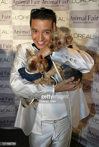 Jai Rodriguez during Animal Fair Magazine's 5th Annual 'Paws for Style' Event at Club Black in New York City New York United States