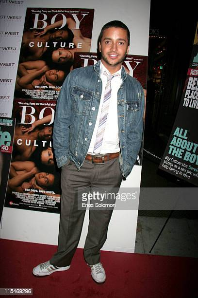 Jai Rodriguez during 'Boy Culture' Los Angeles Premiere Arrivals at East/West Lounge in West Hollywood California United States