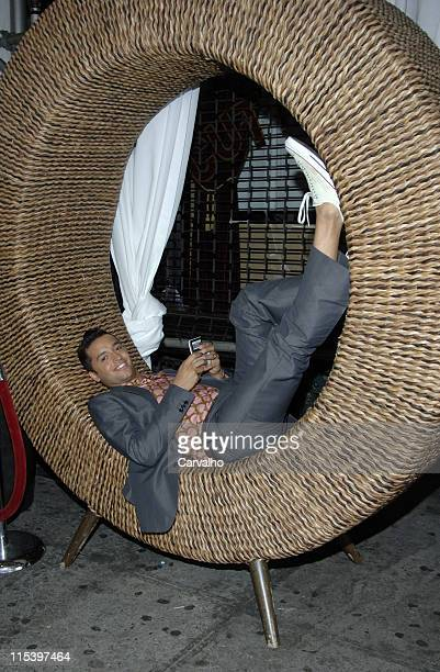Jai Rodriguez during Jai Rodriguez Sighting in New York City June 16 2005 at Chelsea in New York City New York United States