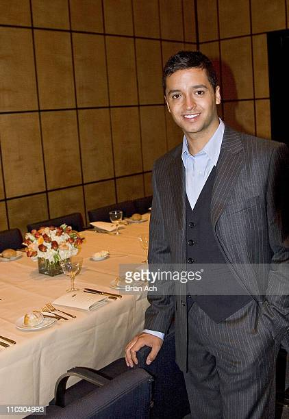 Jai Rodriguez during Luncheon Featuring Jai Rodriguez to Preview The Hottest 2007 Men's Style Fashion Grooming Trends at The Four Seasons Restaurant...