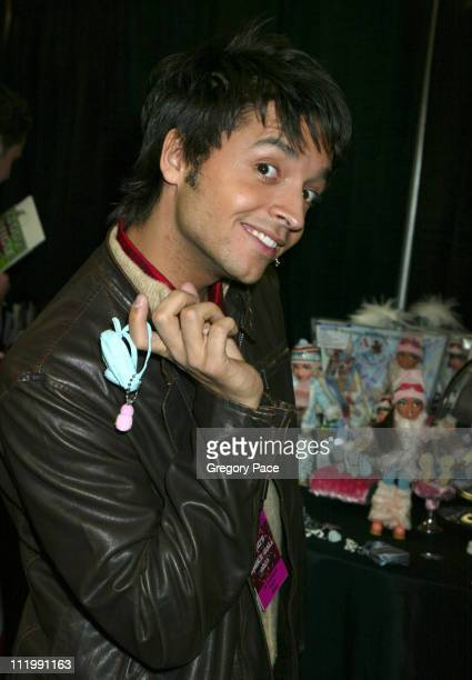 Jai Rodriguez of 'Queer Eye for the Straight Guy' during Z100's Jingle Ball 2003 Artist Gift Lounge by On 3 Productions at Madison Square Garden in...
