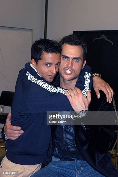 Jai Rodriguez with Cheyenne Jackson of 'All Shook Up'