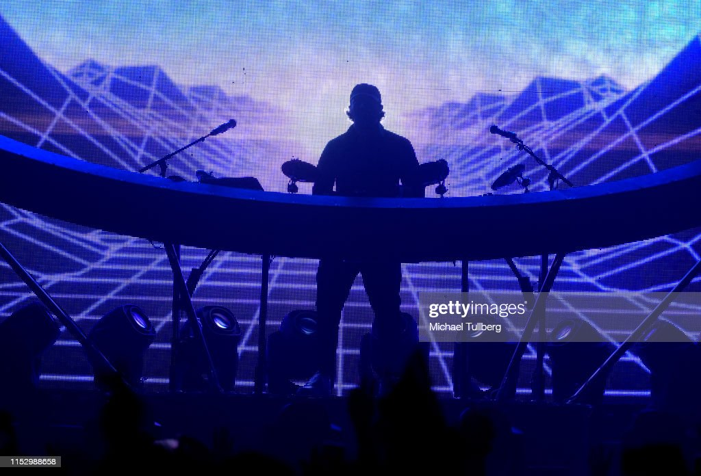 Jai Wolf performs at The Shrine Expo Hall on May 31, 2019 in Los
