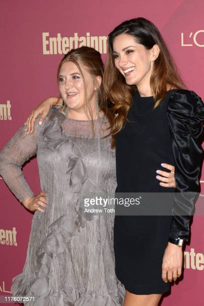 Jaicy Elliot and Stefania Spampinato attend the 2019 PreEmmy Party hosted by Entertainment Weekly and L'Oreal Paris at Sunset Tower Hotel in Los...