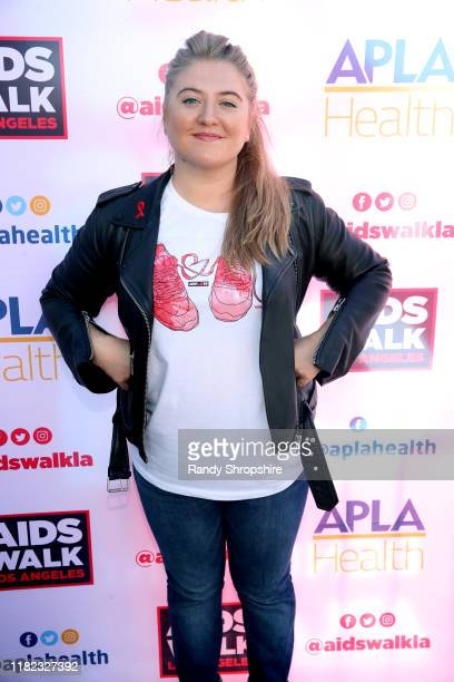 Jaicy Elliot attends AIDS Walk Los Angeles 2019 on October 20 2019 in Los Angeles California