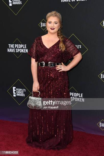 Jaicy Elliot attends the 2019 E People's Choice Awards at Barker Hangar on November 10 2019 in Santa Monica California