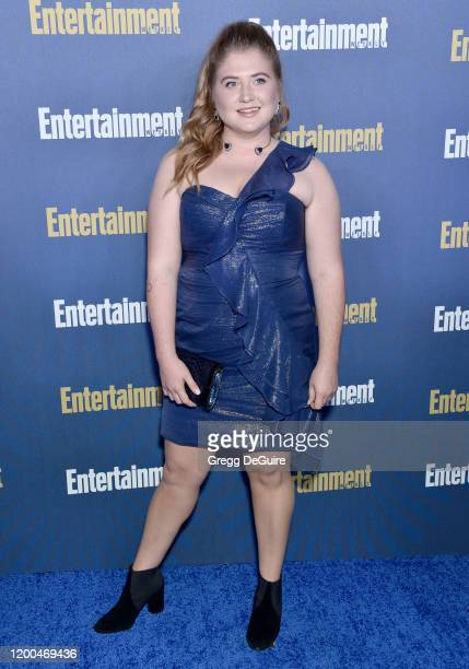 Jaicy Elliot attends the Entertainment Weekly PreSAG Celebration at Chateau Marmont on January 18 2020 in Los Angeles California