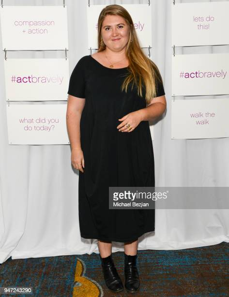 Jaicy Elliot attends Together 1 Heart charity Hosts Presentation To Announce The #ActBravely Movement at Sofitel Hotel on April 15 2018 in Los...