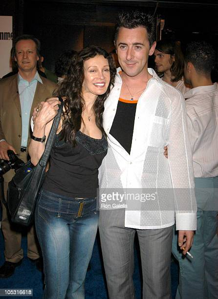 Jaid Barrymore and Alan Cumming during 2nd Annual Entertainment Weekly It List Party at The Roxy in New York City New York United States