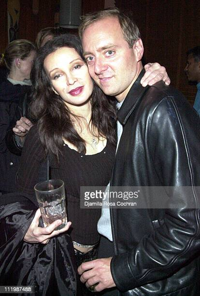 Jaid Barrymore and Jeff Oppenheim during Celebration of the Launch of Indievision Magazine at Sugar in New York City New York
