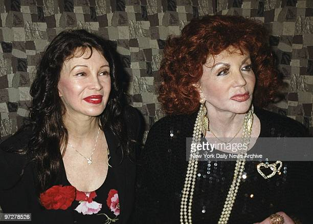 Jaid Barrymore Drew's mom and Jackie Stallone mother of Sly get together at Club One51 on E 50th St They were among the celebrity moms who turned out...