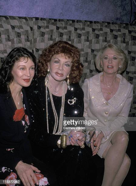 Jaid Barrymore Jackie Stallone and Tippi Hedren during Celebrity Moms and GreetNwin Kick Off Mother's Day at ONE51 in New York City New York United...