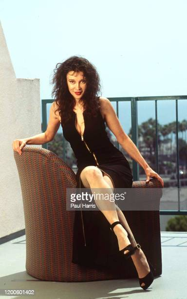 Jaid Barrymore mother of actress Drew Barrymore published a book in 1995 called Secrets of World Class Lovers she is photographed May 30 1995 on the...
