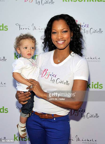 Jaid Thomas Nilon and Garcelle BeauvaisNilon attends Kitson's Petit Bijou By Garcelle Launch Party on November 15 2008 at Kitson's in Los Angeles...