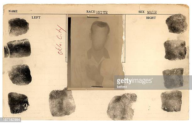 carte de la prison - mugshot photos et images de collection