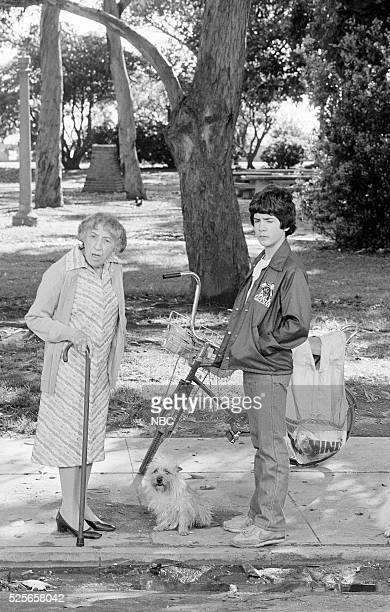S BOOMER Jailbreak Episode 3 Pictured Margaret Hamilton as mean woman Matthew Labyorteaux as Jesse