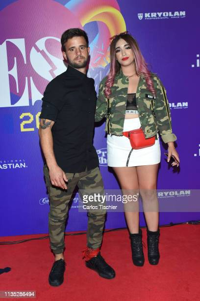 Jaime Altozano and Ter poses for photos during Eres Awards 2019 red carpet at Campo Marte on March 11 2019 in Mexico City Mexico