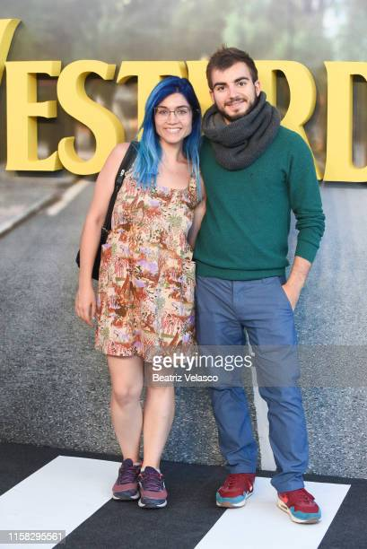 Jaime Altozano attends Yesterday premiere at Capitol Cinema on June 25 2019 in Madrid Spain
