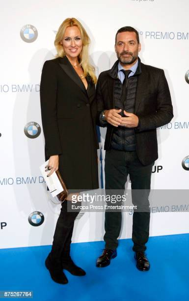 Jaime Anglada and Carolina Cerezuela attend the 32nd edition of BMW Painting Award at the Royal Theatre on November 16 2017 in Madrid Spain