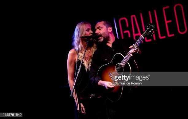 Jaime Anglada and Carolina Cerezuela of Anglada Cerezuela perform on June 13 2019 in Madrid Spain