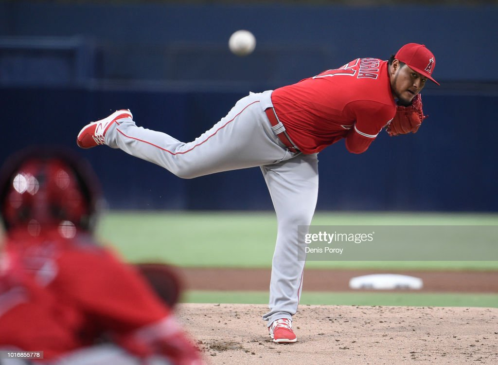 Los Angeles Angels of Anaheim  v San Diego Padres