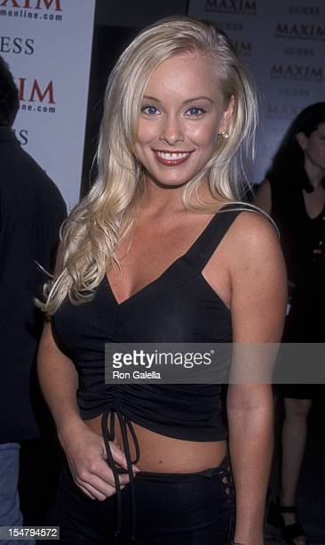 Jaime Bergman attends Maxim Magazine Party on August 10 2000 at the Maxim Hotel in Hollywood California