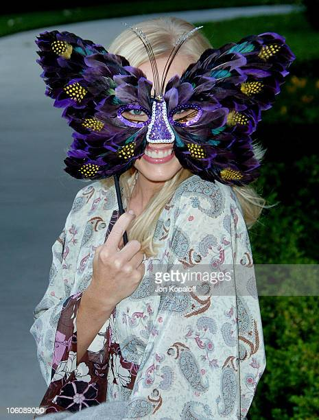 Jaime Bergman during Chrysalis' 5th Annual Butterfly Ball at The Italian Villa Carla Fred Sands in Bel Air California United States