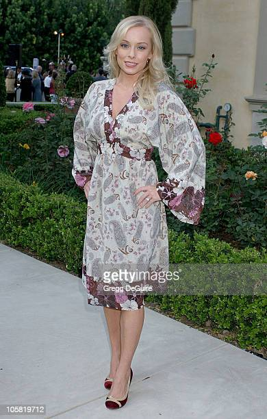 Jaime Bergman during Chrysalis's 5th Annual Butterfly Ball Arrivals at Italian villa of Carla and Fred Sands in Bel Air California United States