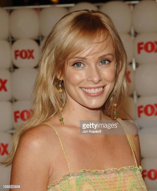 Jaime Bergman during FOX Summer 2005 AllStar Party Arrivals at Santa Monica Pier in Santa Monica California United States