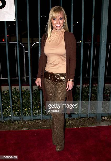 Jaime Bergman during Shannon Elizabeth Launches Animal Avengers Charity at Club Vinyl in Hollywood California United States