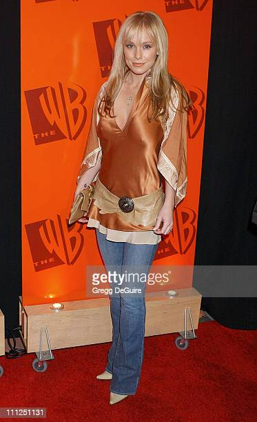 Jaime Bergman during The WB Network's 2004 All Star Party at Hollywood Highland in Hollywood California United States
