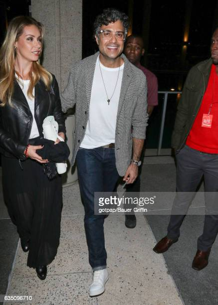 Jaime Camil and Heidi Balvanera are seen on February 12 2017 in Los Angeles California