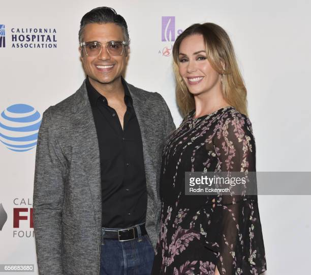 Jaime Camil and Heidi Balvanera attend California Fires Foundation's 4th Annual Foundation Gala at Avalon Hollywood on March 22 2017 in Los Angeles...
