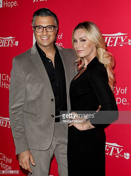 Jaime Camil and Heidi Balvanera attend Variety's 10 Latinos To Watch Event at The London West Hollywood on September 28 2016 in West Hollywood...