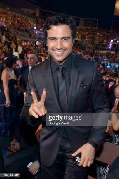 Jaime Camil attends the 13th annual Latin GRAMMY Awards held at the Mandalay Bay Events Center on November 15 2012 in Las Vegas Nevada