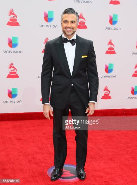 Jaime Camil attends the 18th Annual Latin Grammy Awards on November 16 2017 in Las Vegas Nevada