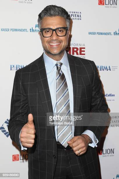 Jaime Camil attends the California Fire Foundation's 5th Annual Gala at Avalon on March 28 2018 in Hollywood California