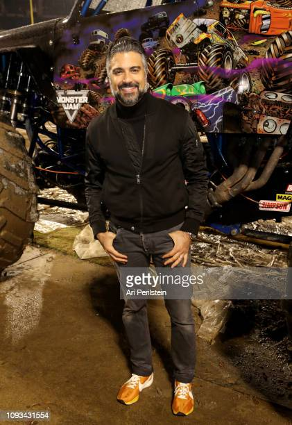 Jaime Camil attends the Monster Jam Celebrity Event at Angel Stadium on January 12 2019 in Anaheim California