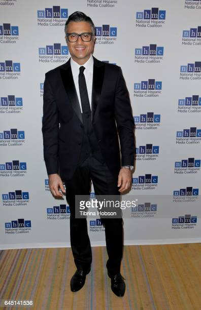 Jaime Camil attends the National Hispanic Media Coalition's 20th Annual Impact Awards Gala at Regent Beverly Wilshire Hotel on February 24 2017 in...