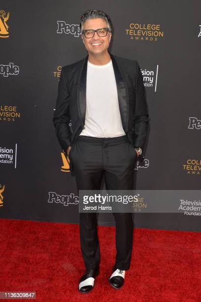 Jaime Camil attends The Television Academy Foundation's 39th College Television Awards at Wolf Theatre on March 16 2019 in North Hollywood California