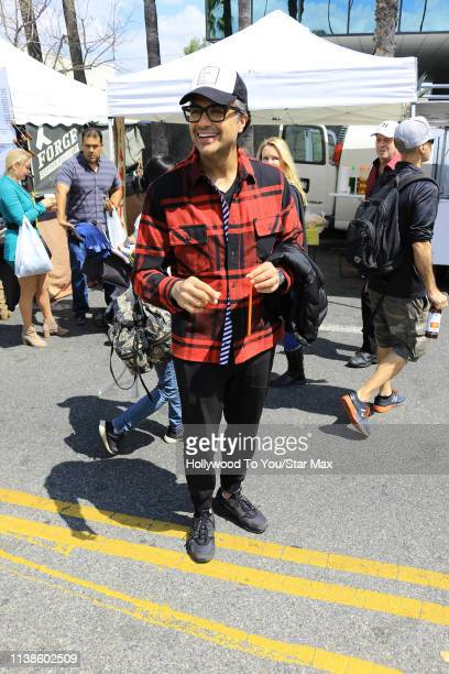 Jaime Camil is seen on April 21 2019 in Los Angeles California