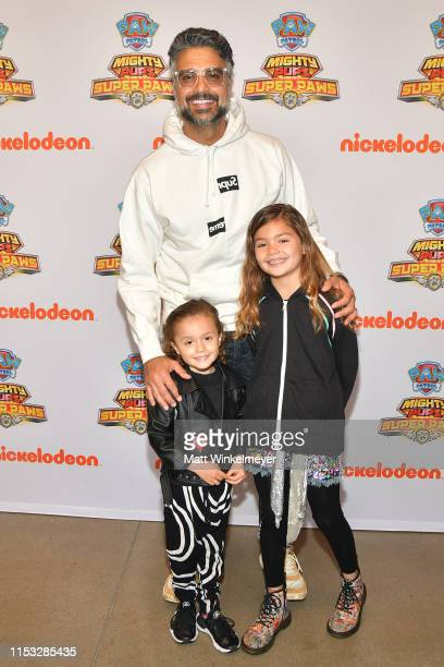 Jaime Camil Jaime Camil and Elena Camil attend the PAW Patrol Mighty Pups Super Paws advance screening at Nickelodeon in Burbank at Nickelodeon...