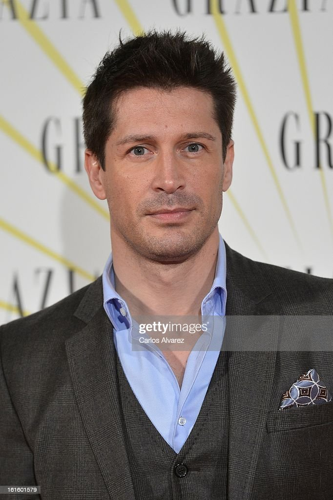 Jaime Cantizano attends the 'Grazia' magazine launch party at the Price theater on February 12, 2013 in Madrid, Spain.